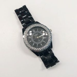 Figaro couture black watch crystal